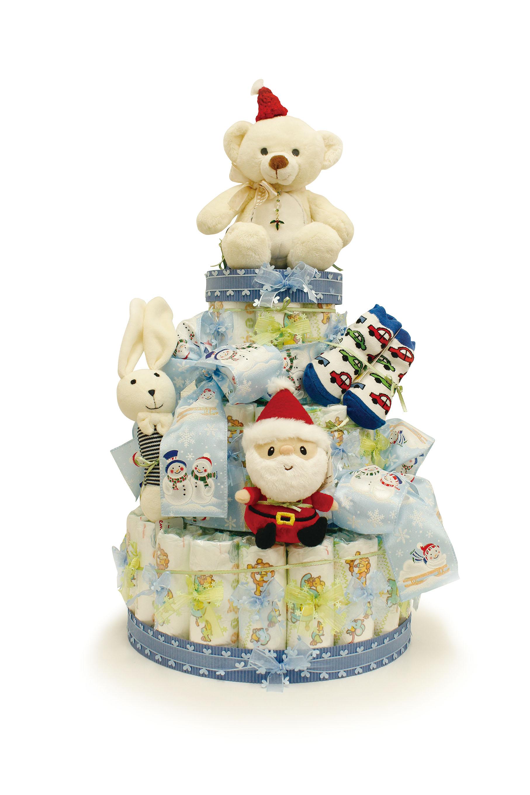 おむつケーキ☆クリスマス ... : パンパース サンプルプレゼント : すべての講義